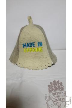 Шапка для бани MADE IN UKRAINE