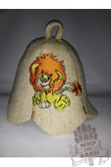 детская шапочка ЛЕВОЧКА
