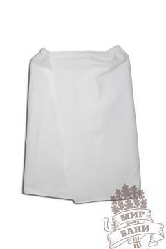 Парео вафельное ( белое ) 0,75*1,3 м