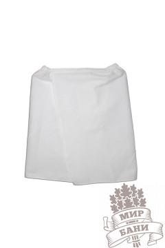 Парео вафельное (белое ) 0,45*1,3 м